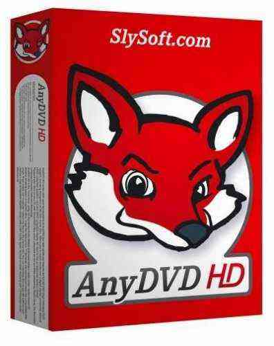 SlySoft AnyDVD & AnyDVD HD