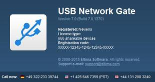 Eltima Software USB Network Gate