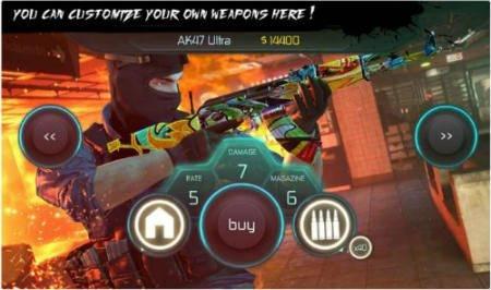 DownloadCounter Terrorist 2 Gun Strike Mod [Unlimited Ammo + Coins] v1.05