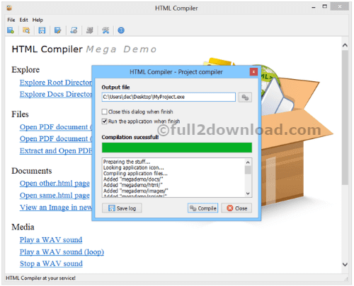 Download HTML Compiler 2017 full
