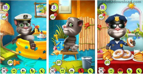 Download My Talking Tom MOD APK 4.3.1.7 - Unlimited Coins