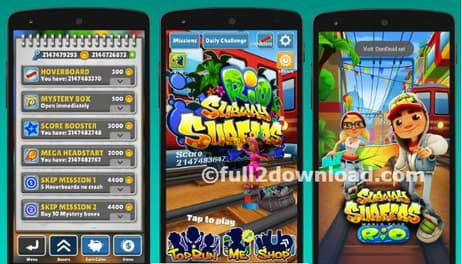 Unlimited Coins Mney Hack Subway-Surfers