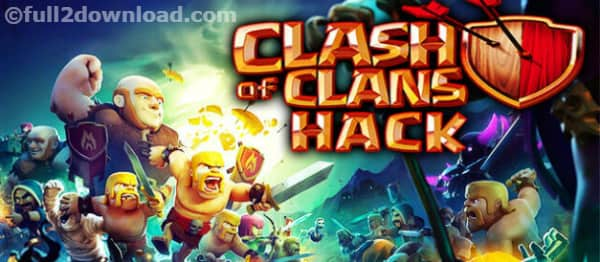 Clash of Clans 9.105.5 MOD/ Hack - Unlimited Gems,Coins,Power up