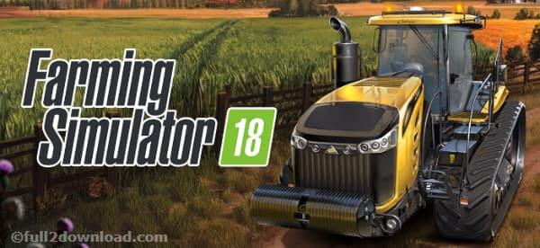 Farming Simulator 18 v1.1.0.2 + Mod APK Download