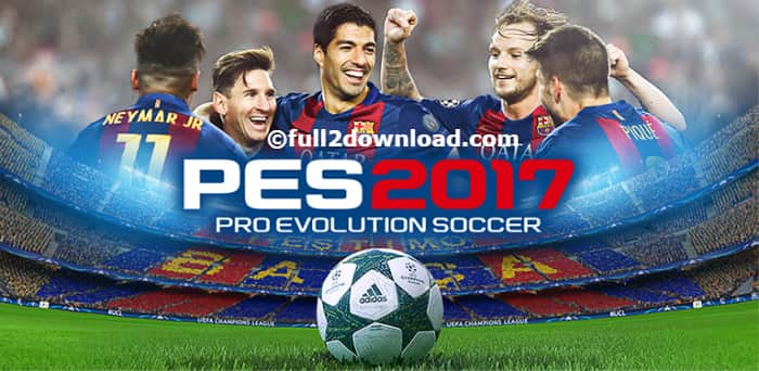 PES 2017 Pro Evolution Soccer v1.2.2 Android Game + Data Files
