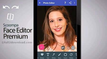 Scoompa Photo Editor & Perfect Selfie Premium v7.9 - Face Editing App