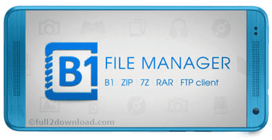 Download B1 File Manager and Archiver Pro v1.0.0044
