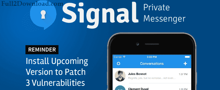 Signal Private Messenger 4.12.3 Download - Android Secure Messenger