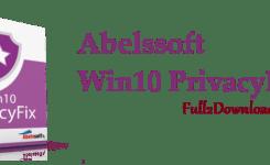 Download Abelssoft Win10 PrivacyFix v1.9 – Privacy Software for Windows 10