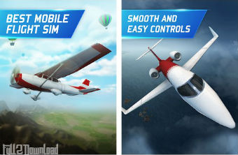 Download Flight Pilot Simulator Mod Game