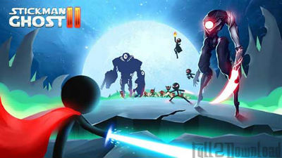 Download Stickman Ghost 2 Galaxy Wars Mod APK