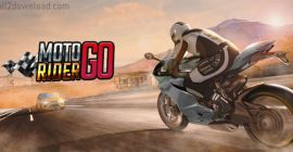 Download Moto Rider GO Mod APK Unlimited Shopping
