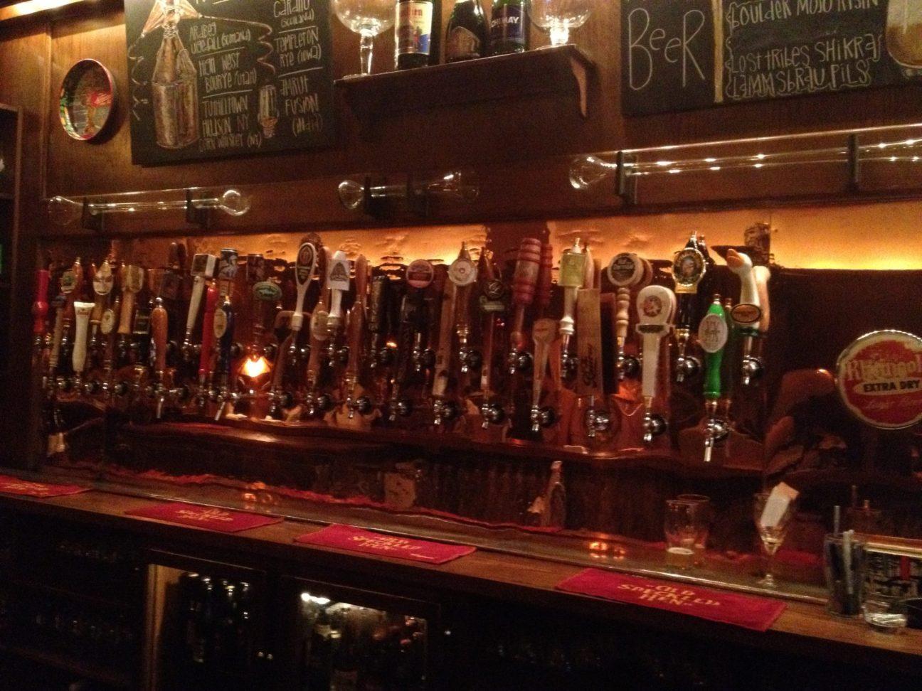 Beer Tabs in East Village