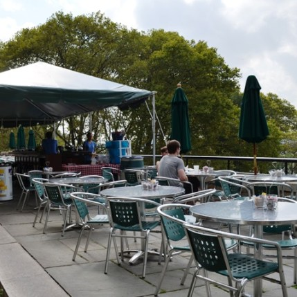 Hudson Beach Cafe Outdoor Seating
