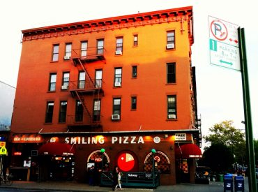 NYC Smiling Pizza Restaurant