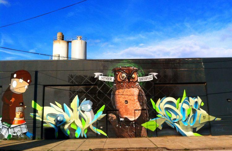 Street Art Owl