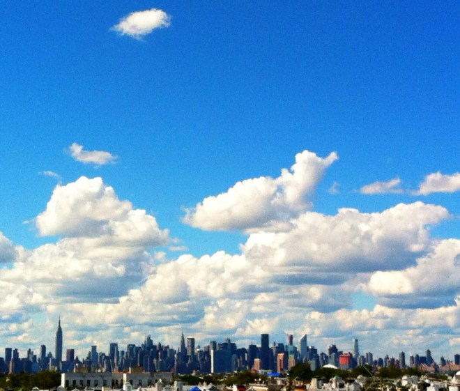Clouds Over The City