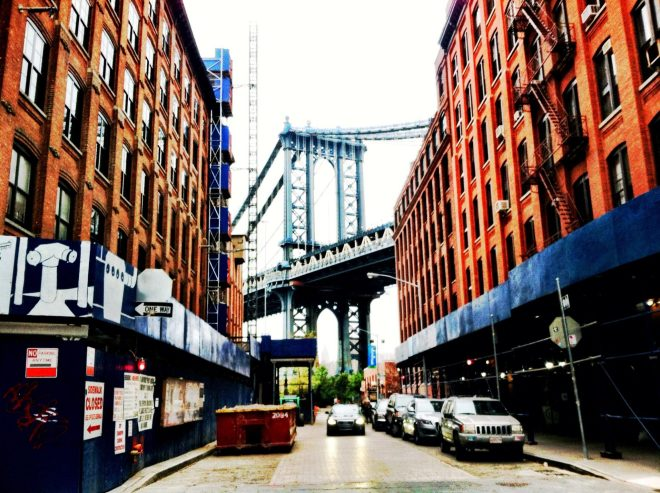 DUMBO and the Manhattan Borough Bridge