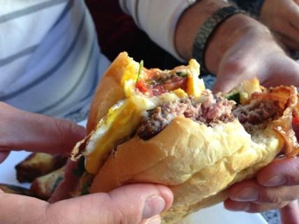 Burger at The Station