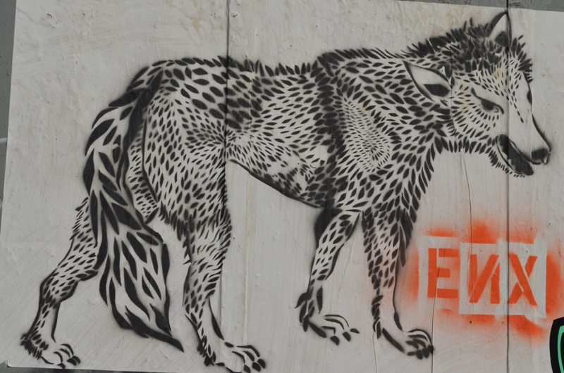 Lobo Street Art in Williamsburg Brooklyn