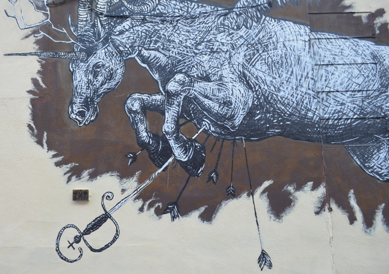 Brooklyn Street Art Horse