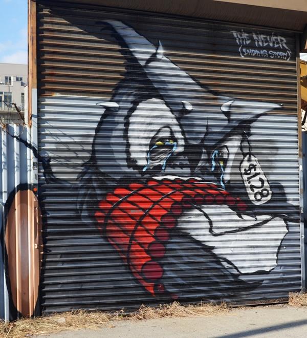 Williamsburg Brooklyn Street Art 1