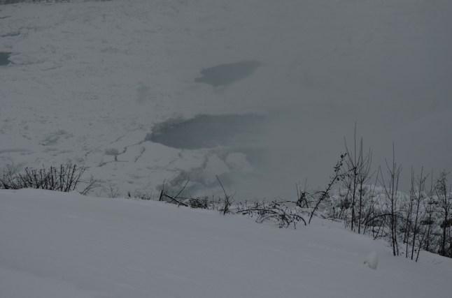 Ice Flows on the Niagara River Winter 2014