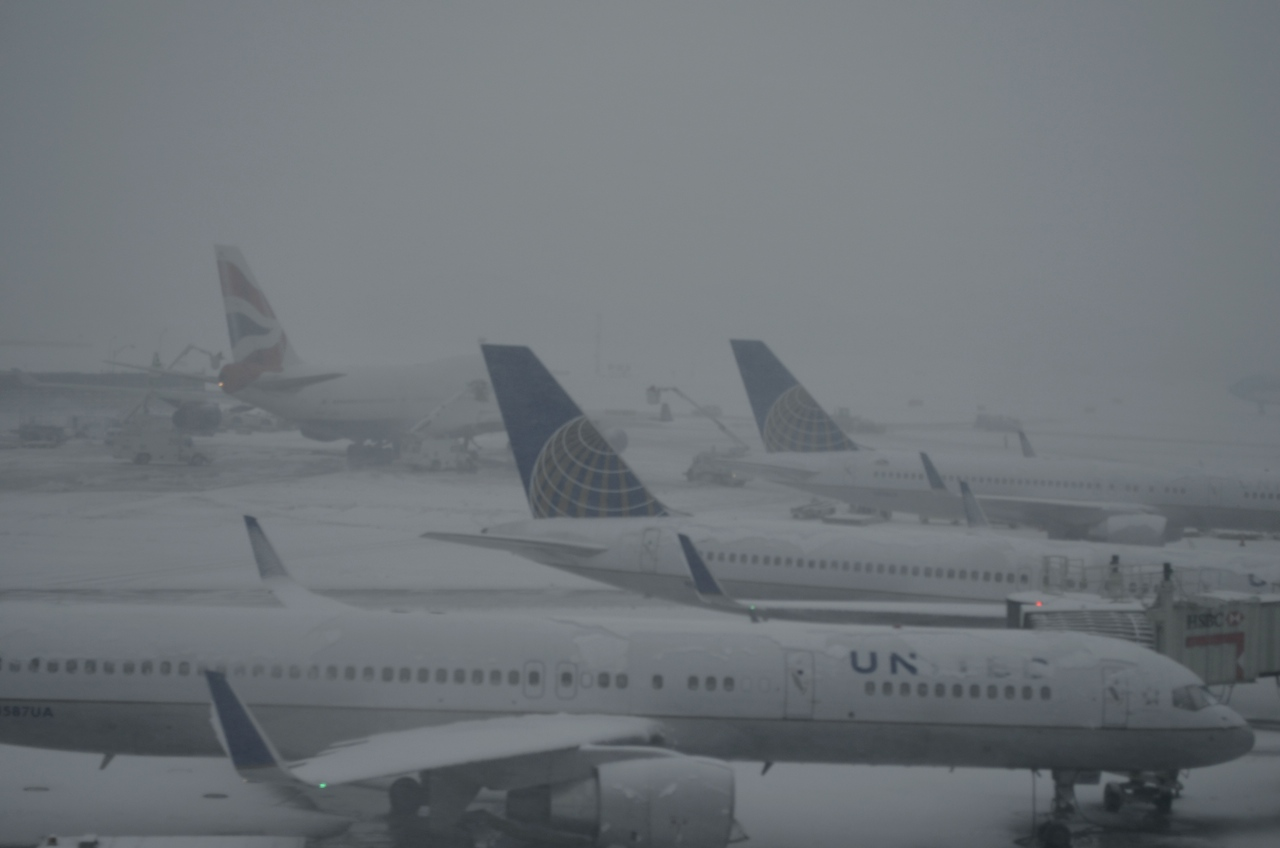 United Airlines at JFK