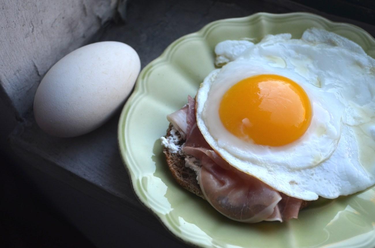Goose Egg Sandwich