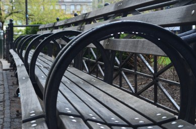 Park Bench NYC