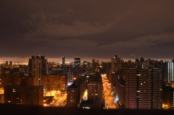 Upper West Side at Night