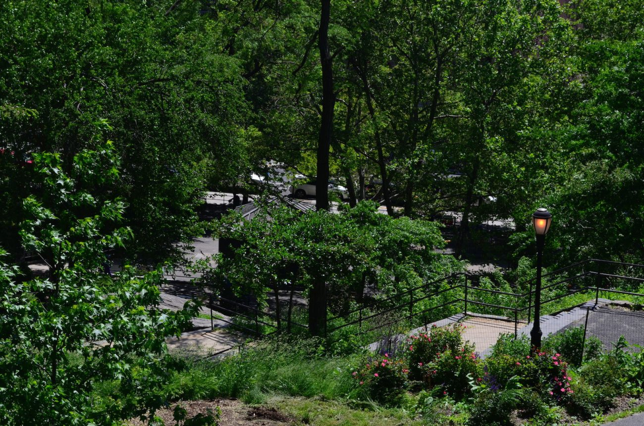 Saint Nicolas Park In Hamilton Heights