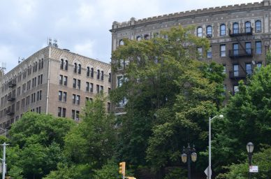 Brick Buildings On The Upper West Side