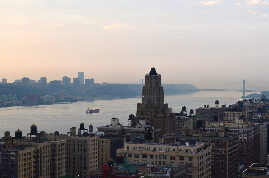 Evening On The Hudson River