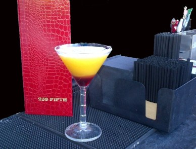 Passion Fruit Martini From 230 Fifth
