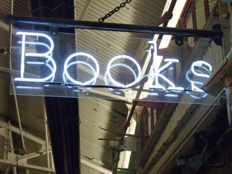 Posman Books Sign