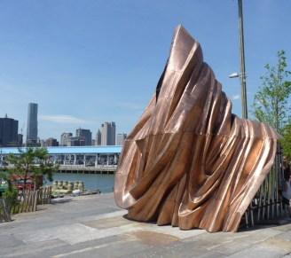 Public Art In Brooklyn Bridge Park