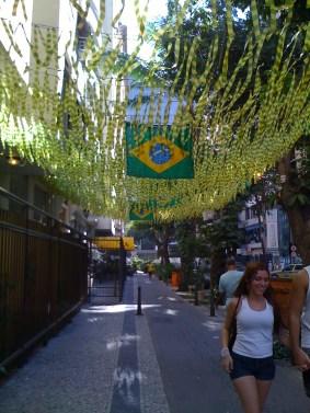 Street in Rio