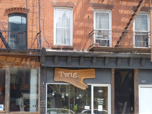 Twig Storefront in Gowanus Brooklyn