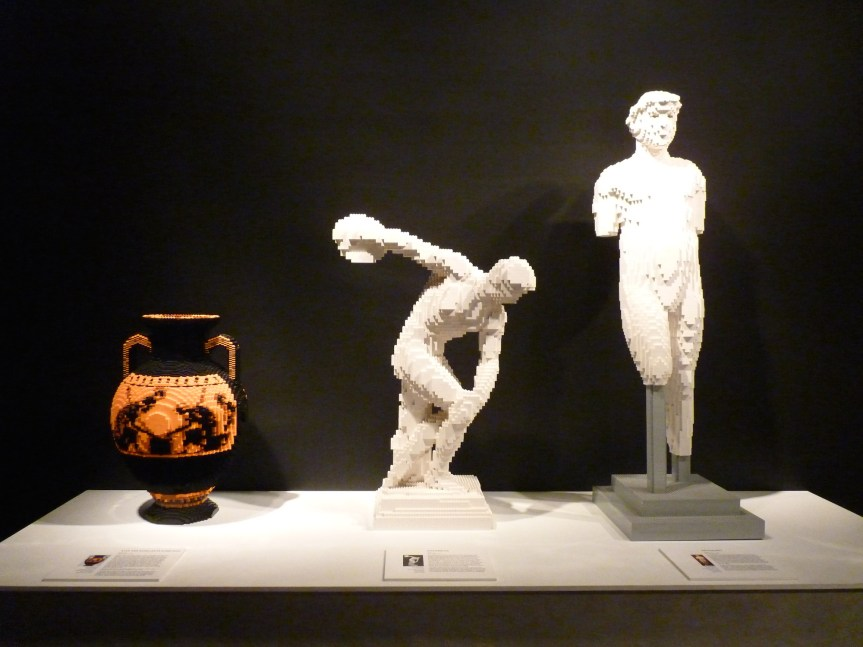 Statues by Nathan Sawaya