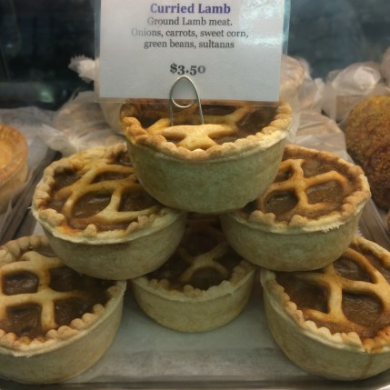 Curried Lamb Meat Pies at Myers of Keswick in the West Village NYC