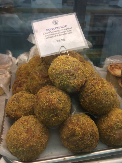 Scotch Eggs at Myers of Keswick in the West Village