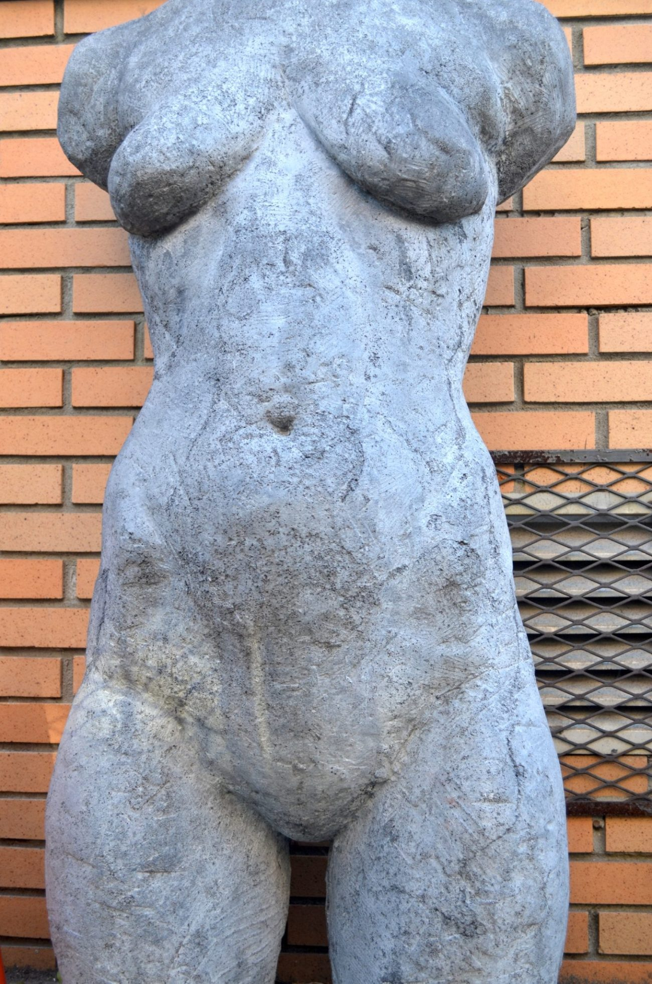 Nude Female Sculpture in Harlem