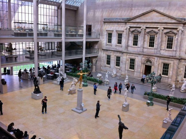 American Wing Restaurant at The Metropolitan Museum of Art