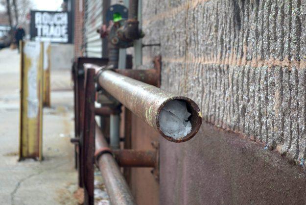 Pipe in Williamsburg Brooklyn