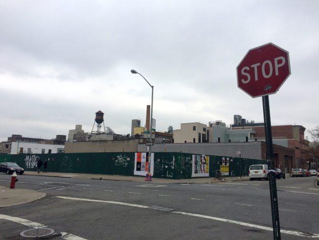 Wythe Avenue in Williamsburg Brooklyn