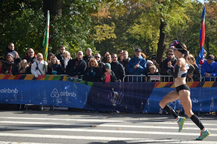 Elite Female Runner at the New York City Marathon
