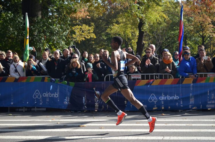 Elite Runner at the New York City Marathon