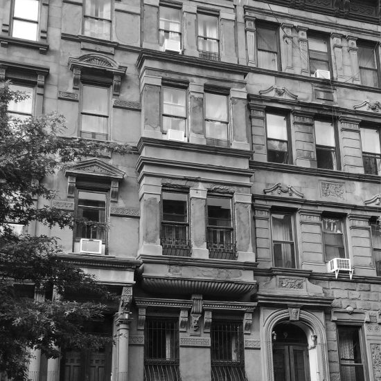 Apartment Building Facade in New York City