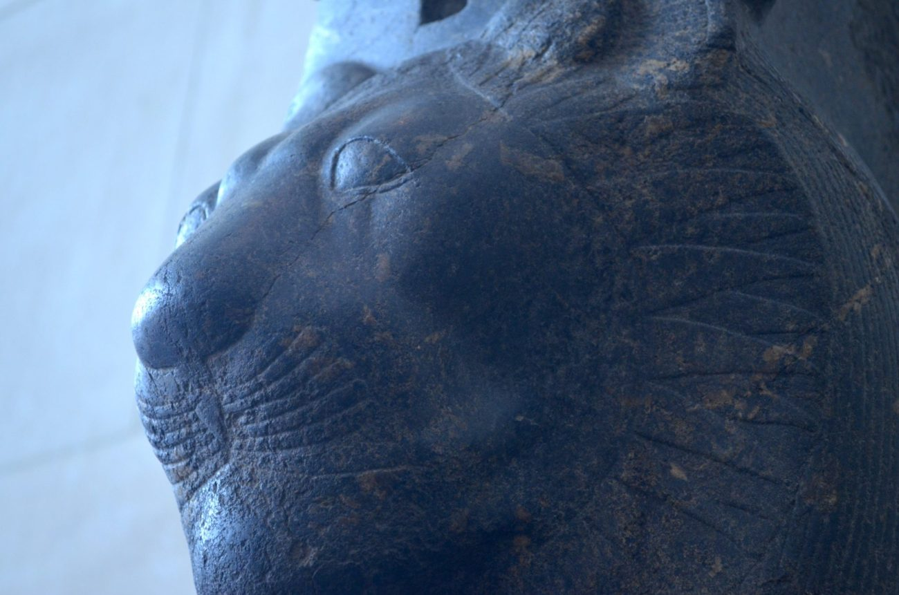 Lion at the Egyptian Wing of the Met
